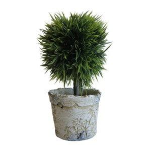 Zelený umělý stromek Stardeco, 20 cm