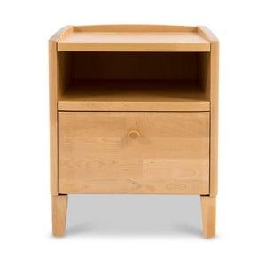 Ručně vyráběný noční stolek z masivního březového dřeva Kiteen Matinea