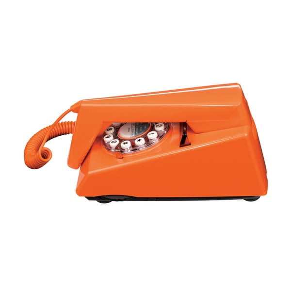 Retro funkční telefon Trim Orange