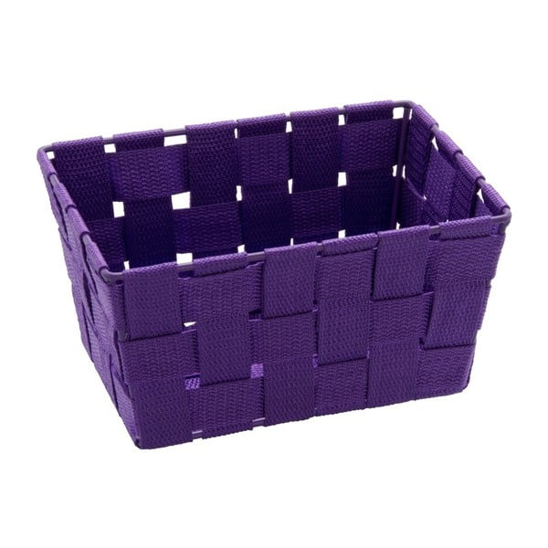 Coș pentru depozitare Wenko Adria, 14 x 19 cm, violet