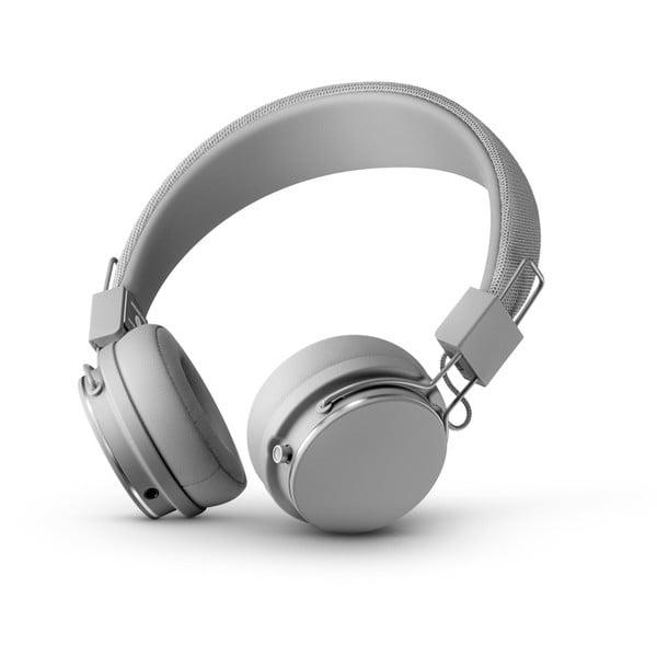 Tmavě šedá bezdrátová Bluetooth sluchátka s mikrofonem Urbanears PLATTAN II BT Dark Grey