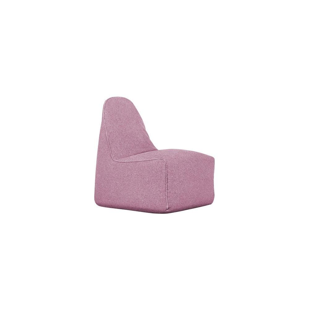 Růžový sedací vak Mazzini Sofas Sunflower