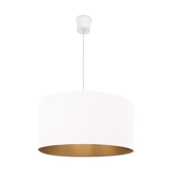 Závěsné světlo Gold Inside One White