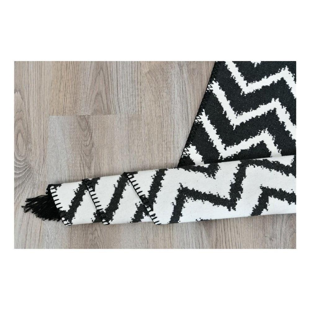 Oboustranný koberec Armada Zigzag,150x80cm