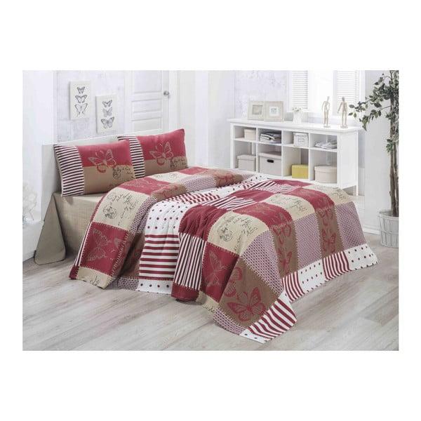 Lekka pikowana bawełniana narzuta na łóżko Carro Lesso, 140x200 cm