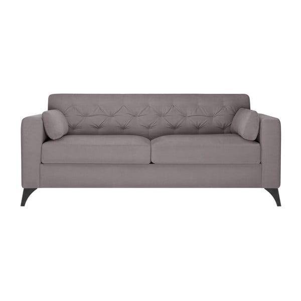 Szaro-beżowa sofa 3-osobowa Guy Laroche Vanity