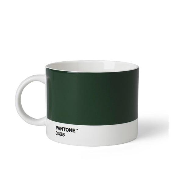 Ciemnozielony kubek na herbatę Pantone, 475 ml