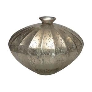 Skleněná váza Ego Dekor Etnico Silver, 14l