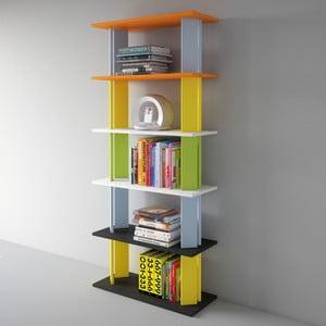 Knihovna Replay 186x80 cm, barevná