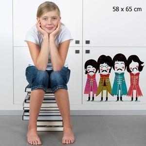 Samolepka Beatles 58x65 cm