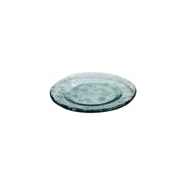 Skleněný talíř EgoDekorFlora, 20 cm
