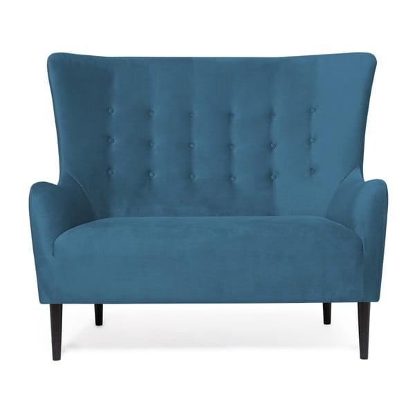 Canapea cu 2 locuri Vivonita Blair, albastru