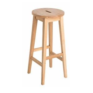 Přírodní vysoká dubová stolička  Folke Frigg