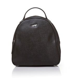 Kožený batoh Marta Ponti Pavone, černá