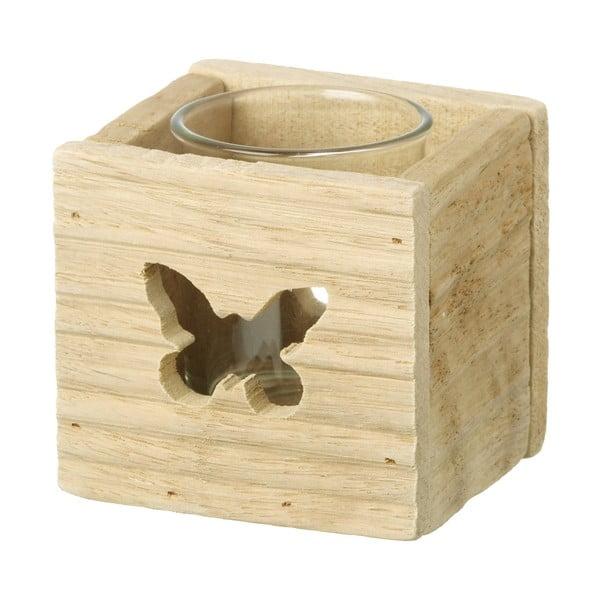 Stojan na svíčku Butterfly, 7 cm
