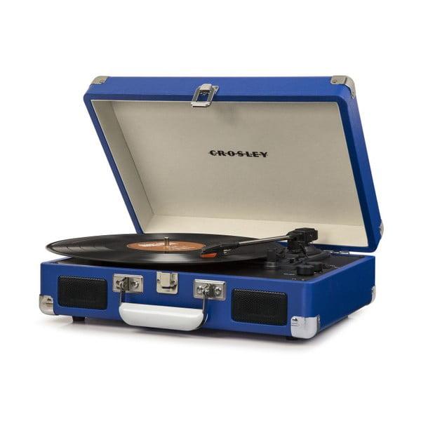 Granatowy gramofon Crosley Cruiser Deluxe