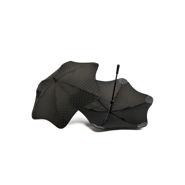Vysoce odolný deštník Blunt Mini+ s reflexním potahem, černý