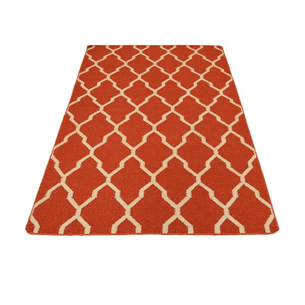Vlněný koberec Kilim No. 027, 150x240 cm