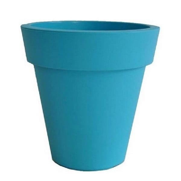 Květináč Samantha 30x30 cm, modrý
