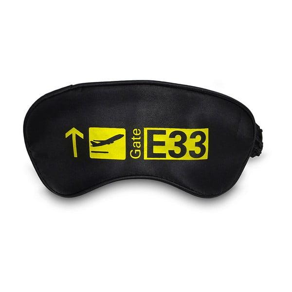 Černo-žlutá maska na oči Hero Paris