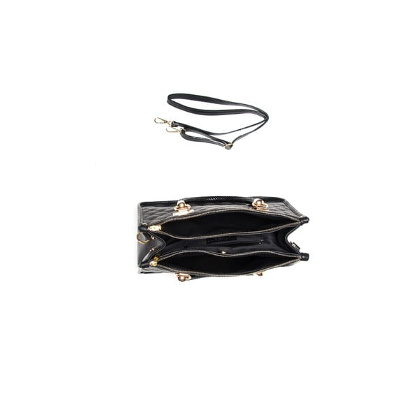 Kožená kabelka Isabella Rhea 2020 Nero