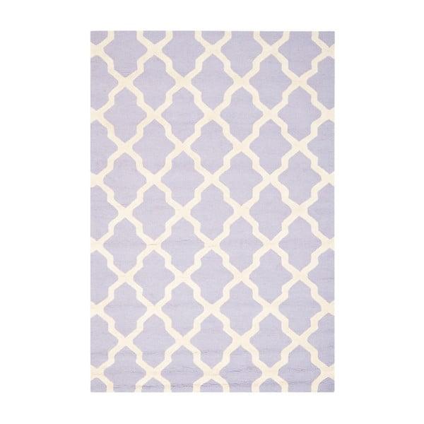 Vlněný koberec Ava Light Purple, 182x274 cm