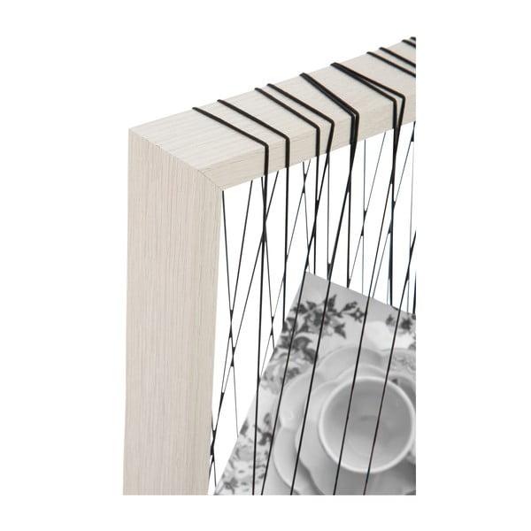 Fotorámeček Rope White, 22x27x4 cm
