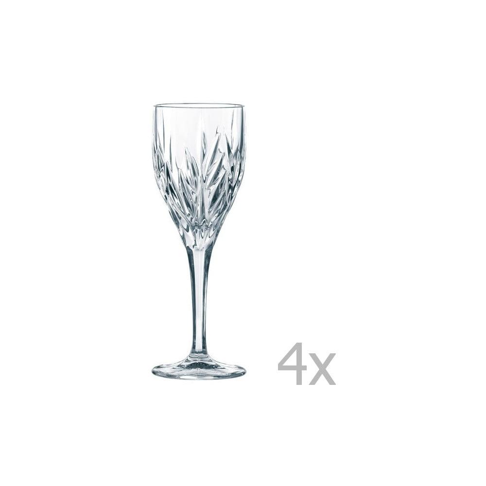 Sada 4 sklenic na víno z křišťálového skla Nachtmann Imperial Purpose, 240ml