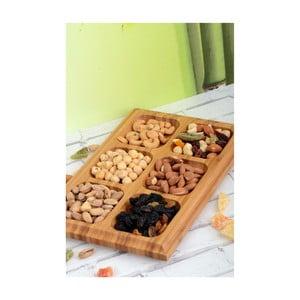 Bambusový servírovací tác na sušenky Kutahya Cookies