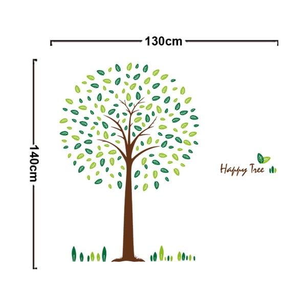 Samolepka na zeď Happy Tree