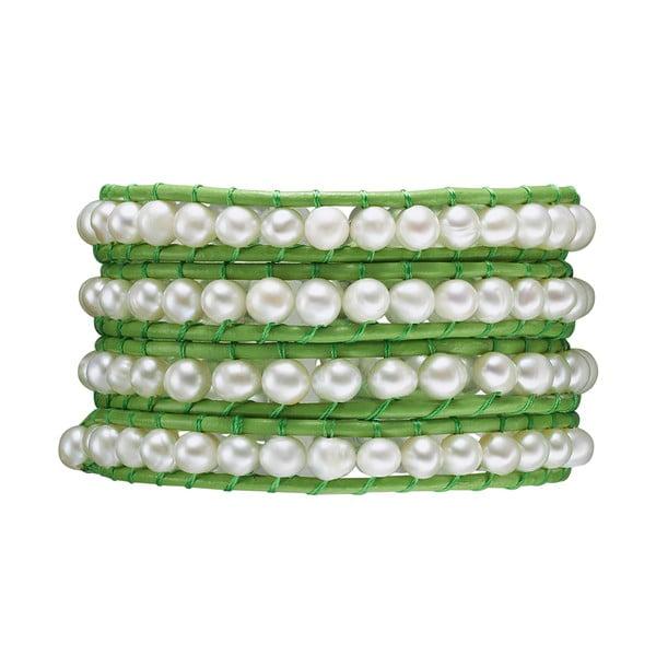 Náramek Evian, zelený
