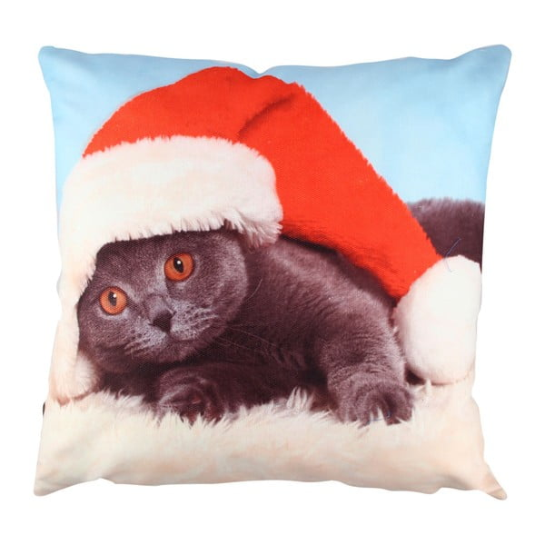 Vankúš Christmas Cat, 43  ×  43 cm