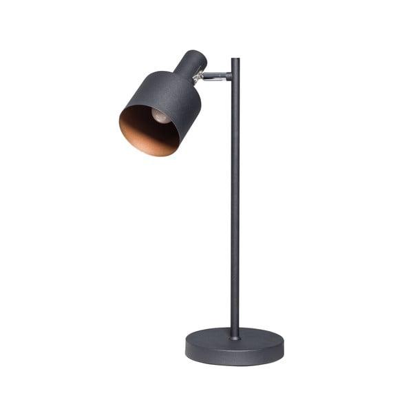 Černá stolní lampa ETH Sledge