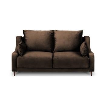 Canapea cu 2 locuri Mazzini Sofas Freesia, maro