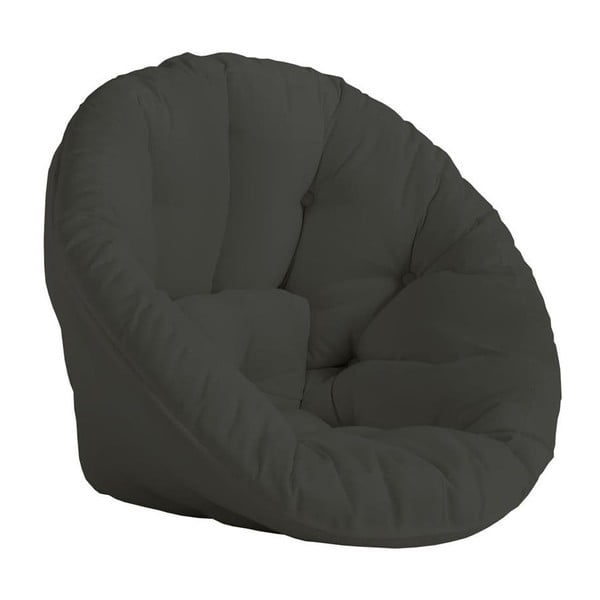 Nido variálható sötétszürke fotel, kültéri használatra - Karup
