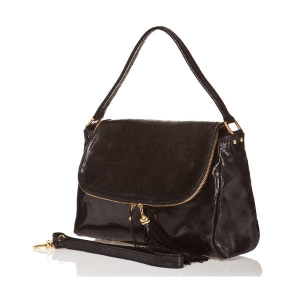 Kožená kabelka Bela, černá