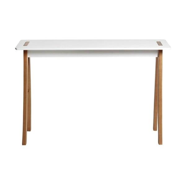Bílý konzolový stolek Marckeric Dana