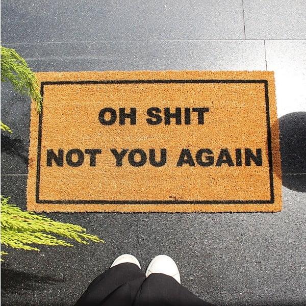 Preș Doormat Oh Shit, 70 x 40 cm