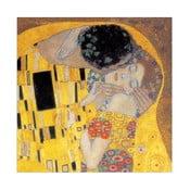 Obraz Klimt - Il bacio, 30x30 cm