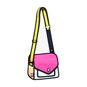 Komiksová taška Giggle Dark Pink