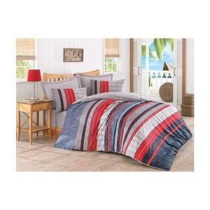 Lenjerie de pat cu cearșaf Viera, 200 x 220 cm