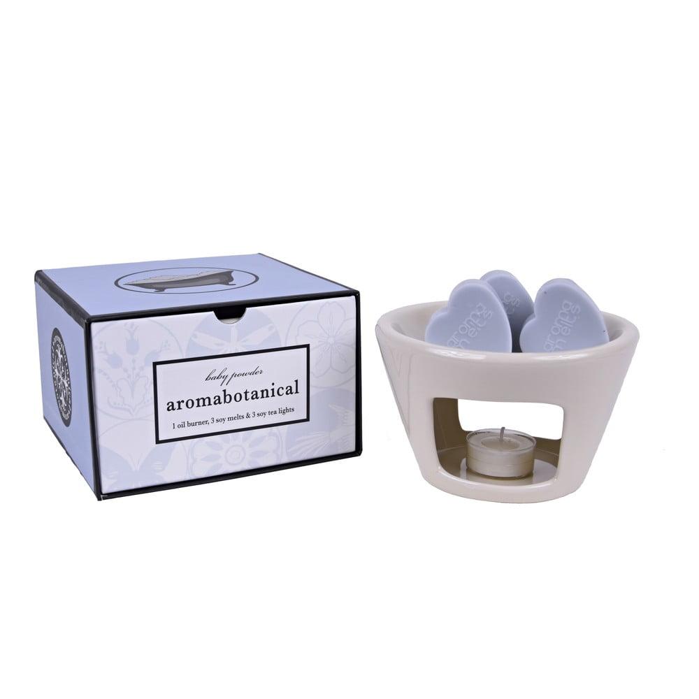 Aromalampa s vonnými vosky s vůní dětského pudru Ego Dekor Sweet Home, dobahoření30hodin