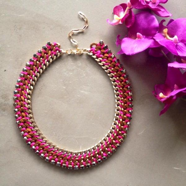 Náhrdelník Swarovski Spirit Bright Pink