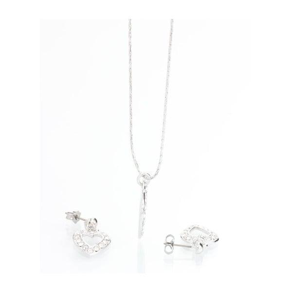 Set náhrdelníku a náušnic se Swarovski Elements Laura Bruni Ronni