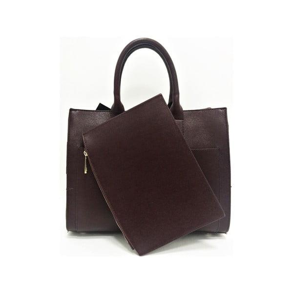Kožená kabelka Goa Brown