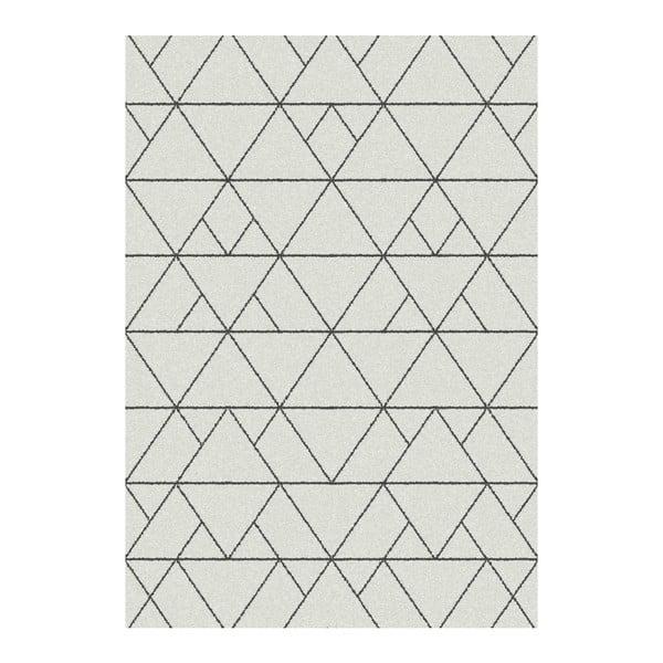 Biely koberec Universal Nilo, 133x190cm