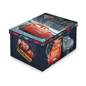 Cutie depozitare pentru copii Domopak Cars, lungime 50 cm