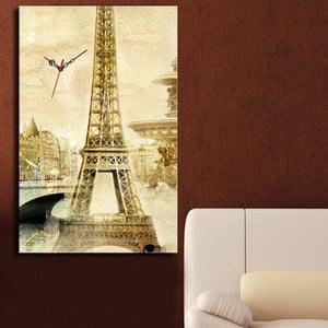 Obrazové hodiny Eiffelova věž
