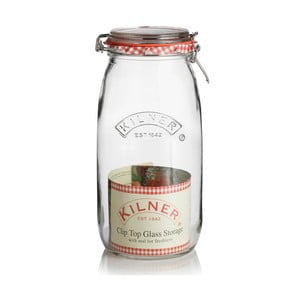 Zavařovací sklenice s klipem Kilner, 2 l