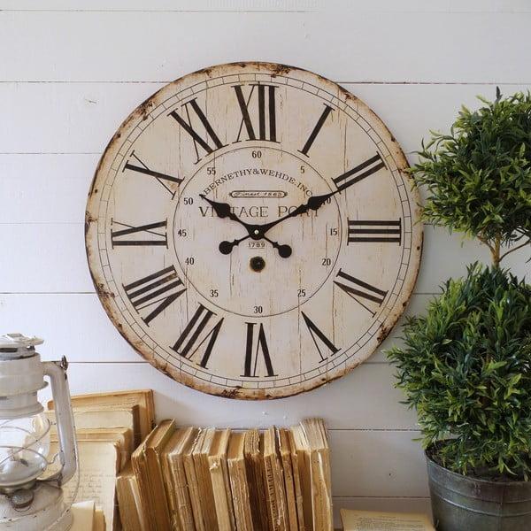 Nástěnné hodiny Orchidea Vintage Port